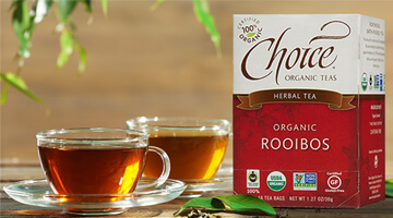 Close-up on Rooibos Tea!